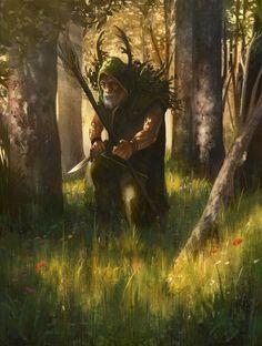 Karadrum the Hermit by KlausPillon