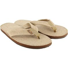 5a0a5967d6a Rainbow - Single Layer Arch Hemp Men s Sandal - Natural