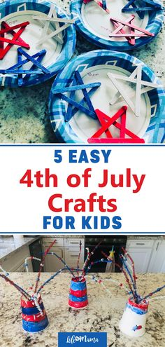 Looking for a fun 4th of July activity to do with the kids? Bring out the Independence Day spirit with these fun and festive 4th of July crafts! They're a great way to celebrate the holiday with your family. We also share options for any supplies you don't have. | #lifeasmama #july4th #4thofjuly #fourthofjuly #independenceday #crafts #diy #kidscrafts 4th Of July Celebration, Fourth Of July, Holiday Crafts For Kids, Diy For Kids, Holidays With Kids, Holidays And Events, Glue Crafts, Paper Crafts, Teen Driver