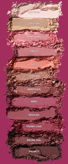 Shop Urban Decay's Naked Cherry Eyeshadow Palette at Sephora. A palette with a sexy vibe that's more tart than sweet, with 12 all-new shades. Eye Makeup Designs, Eye Makeup Tips, Smokey Eye Makeup, Makeup Kit, Makeup Brush Set, Makeup Inspo, Makeup Inspiration, Makeup Ideas, Makeup Tutorials