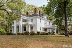 1906 classical Revival located at: 6321 Johnson Pond Rd, Fuquay Varina, NC 27526
