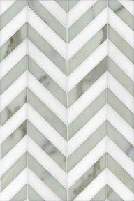carrara marble tiles chevron - for kitchen