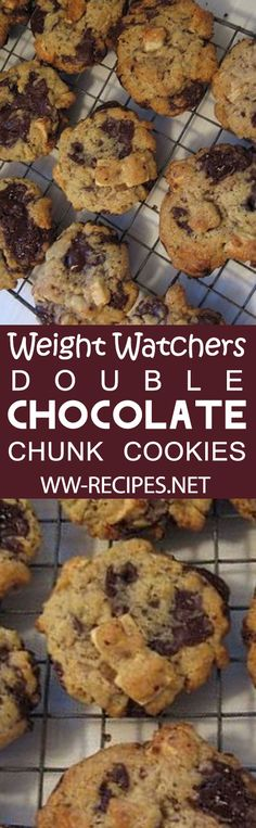 Weight Watchers Double Chocolate Chunk Cookies Recipe