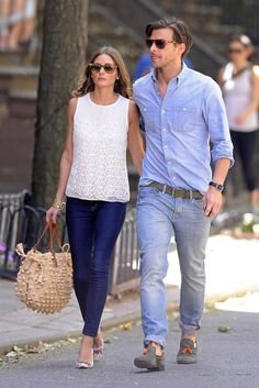 Olivia Palermo Photo - Olivia Palermo and Johannes Huebl Out in the West Village    55      17