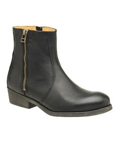 This Black Asphalto Boot by Kickers is perfect! #zulilyfinds