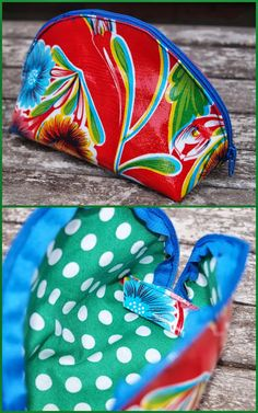 Dumpling voor m'n make-up Diy Bag Making, Sewing Crafts, Sewing Projects, Sewing Pockets, Fabric Bags, Couture, Zipper Bags, Sewing Patterns, Bag Patterns
