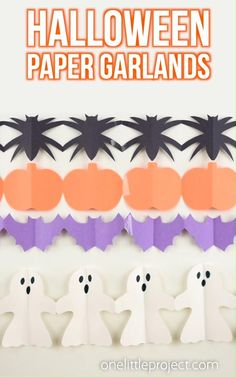 Comida De Halloween Ideas, Halloween Arts And Crafts, Halloween Decorations For Kids, Paper Crafts For Kids, Halloween Diy, Halloween Costumes, Halloween Nails, Women Halloween, Halloween Makeup
