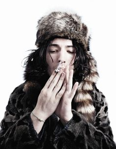 Ezra Miller en portada de AnOther Man Magazine Fall/Winter Issue 2013