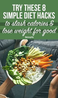 When you feel like you're stuck in a weight-loss rut these simple diet hacks to slash calories and lose weight will help you to get back on track! Diet Tips, Diet Hacks, Food Out, Easy Diets, Proper Diet, Lose 20 Pounds, Weight Loss Meal Plan, Low Calorie Recipes, Meal Planning
