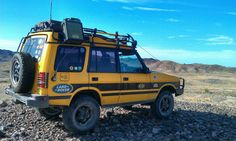 Land Rover 4x4 - I've always wanted to travel like this