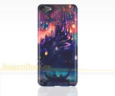 Tangled the lights Disney iPod Touch 5 case Disney iPod 5 case iPod 5 Hard case Image Wrapped Around the Edges - Ooooooh…so pretty….