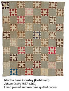 Civil War Quilts - Album Quilt