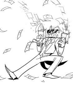 king dice:its raining money ditches! Cartoon N, Retro Cartoons, Cuphead Game, Game Art, Cool Illusions, Vanellope Von Schweetz, Deal With The Devil, Fandoms, Cartoon Crossovers