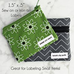 fabric labels sewing labels iron on label quilt labels Sewing Labels, Fabric Labels, Quilt Labels, Iron On Labels, Thing 1, Quilt Border, Textiles, Fabric Yarn, Delicate Wash