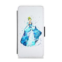 Our Watercolour Cinderella Disney Flip / Wallet Phone Case is available online now for just £9.99. Fan of everything Disney? You'll love our watercolour Cinderella wallet phone case. Weight: 28g, Material: Polyester & Plastic, Production Method: Printed, Thickness: 15mm, Colour Sides: White, Compatible With: iPhone 4/4s | iPhone 5/5s/SE | iPhone 5c | iPhone 6/6s | iPhone 7 | iPhone 7+ | iPhone 8 | iPhone 8+ | Galaxy S4 | Galaxy S5 | Galaxy S6 | Galaxy S6 Edge | Galaxy S7 | Galaxy S7 Edge |