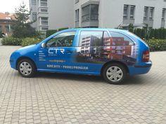 Naše vozy nyní nelze přehlédnout ! Now you can not miss our new company cars ! Unsere Firmenautos können Sie nun nicht mehr übersehen !  http://www.ctrgroup.cz