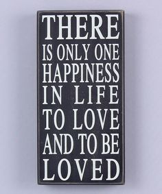 Another great find on #zulily! 'Happiness' Wood Sign #zulilyfinds