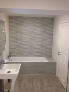 #porcelanosa tiles. Natural and blanco. New bathroom.