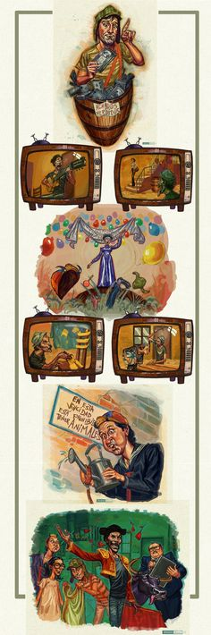 EL Chavo del Ocho Illustrations by ~juarezricci on deviantART