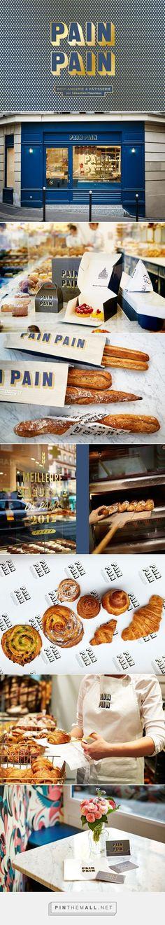 PAINPAIN - Boulangerie & Pâtisserie branding