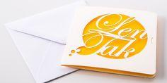 """Pohľadnica z kolekcie """"Mind"""" ... Keď slová nestačia a chcete niekomu pogratulovať k meninám, narodeninám ... len tak mu zapriať VŠETKO NAJLEPŠIE #pohľadnica #prianie #darček #slová #lasercut #lentak"""