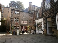 """Sid's Cafe, Holmfirth, set of """"Last of the Summer Wine"""" South Yorkshire, Yorkshire England, Yorkshire Dales, British Sitcoms, British Comedy, Last Of Summer Wine, Mexican Hat, London Calling, Filming Locations"""