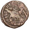 CONSTANTIUS II Constantine the Great son Ancient Roman Coin Battle Horse i42612