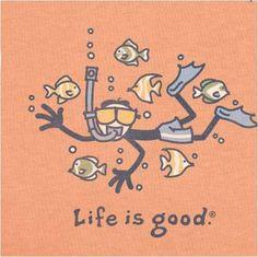 Life IS good. ;) #snorkel