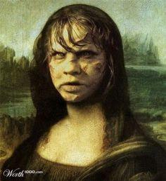 Monster Bego: Mona-Lisa : Beginilah Pesona Kecantikannya