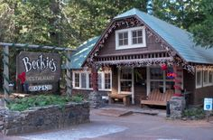 The huckleberry pies are legend and the kitchen ghosts are lore at Beckie's Cafe, a historic restaurant near Crater Lake.