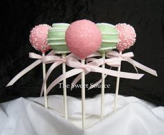 Baby Shower Favors: Premium Baby Shower Cake Pops Made to Order with High Quality Ingredients via Etsy