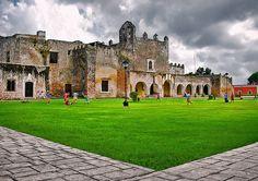 Convento de San Bernardino de Siena, en Valladolid, Yucatán, México