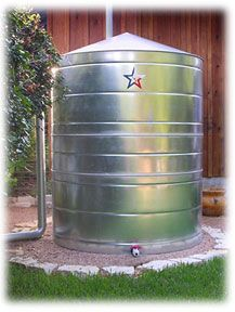 Rainwater Collection System Used For Potable Water Supply
