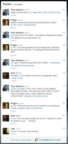 Thor Discovers Twitter