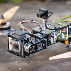 the QAV540G Brushless Gimbal Quad-copter Airframe