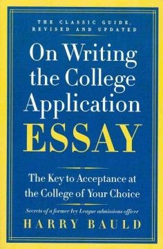 Writing college admission essay joke