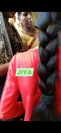 Indian Long Hair Braid, Braids For Long Hair, Beautiful Long Hair, Brunette Hair, Braided Hairstyles, Long Hair Styles, Long Hairstyle, Braid Hair, Long Haircuts