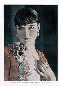 LOUISE BROOKS - (A SCENA MUDA, Thursday, April 21, 1927, Rio de Janeiro, Brazil)