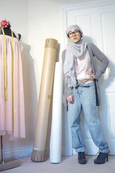 Hana Tajima hijab style casual