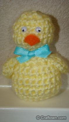Easter Chick Crochet - Easter Chick Designed by Crafts by Starlight All Rights Reserved Print Instructions You Might Also Enjoy Barry ...
