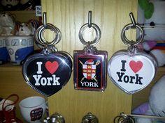 I love York heart keyrings :-)