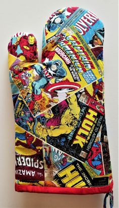 Your place to buy and sell all things handmade Marvel Gifts, Geek Decor, Chef, Hot Pads, Cookware, Kitchenware, Cool Kitchens, Fathers Day Gifts, Marvel Comics