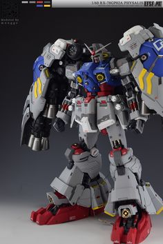GUNDAM GUY: G-System 1/60 RX-78GP02A Gundam 'Physalis' - Painted Build