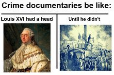 A sub for Historymemes History Memes, Documentaries, Crime, In This Moment, Crime Comics, Fracture Mechanics