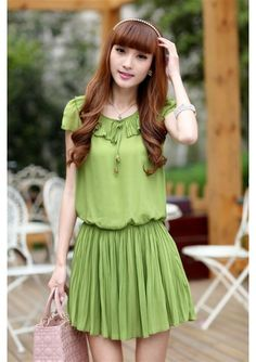 Dress Dress 2013 Korean Style Ciffon Summer Dress