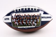 Personalized football gift for senior night and any other occasion for your favorite football player.