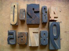 Antique letterpress printers
