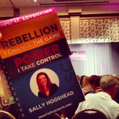 Did you take Sally Hogshead's quiz at the eWomenNetwork Conference?   Let's share our triggers!