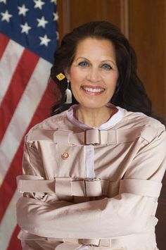 Tea Party Poster Child.. She gives Tea Bags a bad name.