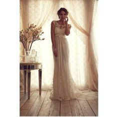 Romantic Wedding Dresses by Anna Campbell #wedding #fashion